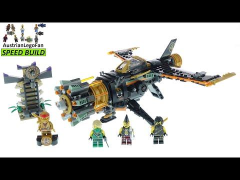 Vidéo LEGO Ninjago 71736 : Le jet multi-missiles
