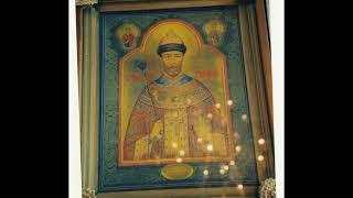 Мироточивая икона св Царя Муч Николая в Санкт Петербурге сентябрь 1999 года эфир правосл радио С Пб