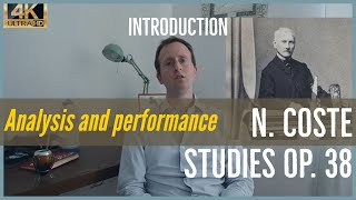Napoleon Coste, studies op. 38. Analysis and Performance. Introduction to the project.