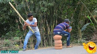Indian New funny Video😄-😅Hindi Comedy Videos 2019-Episode-52--Indian Fun || DJ FUN BD