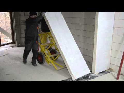 Pokaz montażu ścian działowych z płyt Ytong Panel - zdjęcie