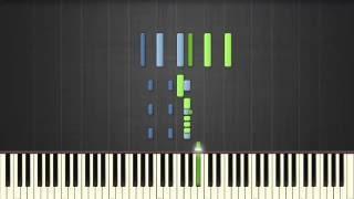 Enrique Iglesias - El Perdon (ft. Nicky Jam) - Piano tutorial (Synthesia)