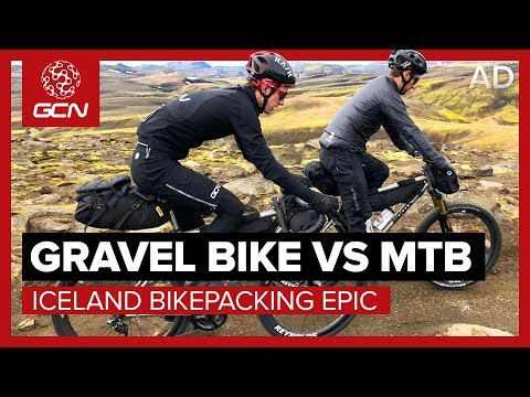 Global Cycling Network: Gravel Bike Vs MTB | Iceland Bikepacking Epic