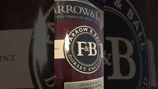 Product Warning Of Farrow And Ball Full Gloss