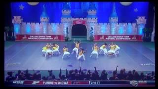UDA College Dance Team National Championship Hip Hop 2014 LSU Tiger Girls