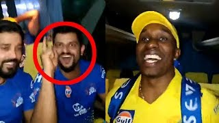 CSK Celebration Inside Bus | IPL 2018 Finals | CSK Vs SRH