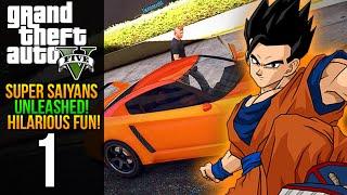 GTA V: Super Saiyans Unleashed - Episode 1 (Grand Theft Auto 5 Heists + DLC Gameplay)