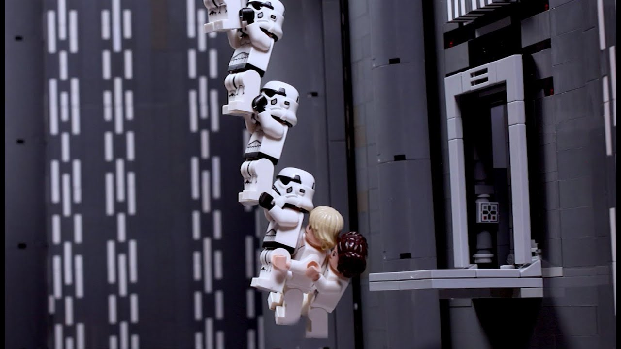 Death Star Escape - LEGO STAR WARS - Stop-Motion Story