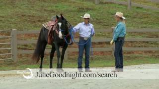 Julie Goodnight: Afraid of My Shadow, Episode 909 of Horse Master for RFD-TV; free sample episode!