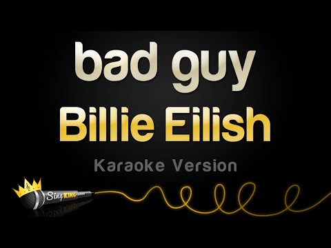 Billie Eilish - bad guy (Karaoke Version)