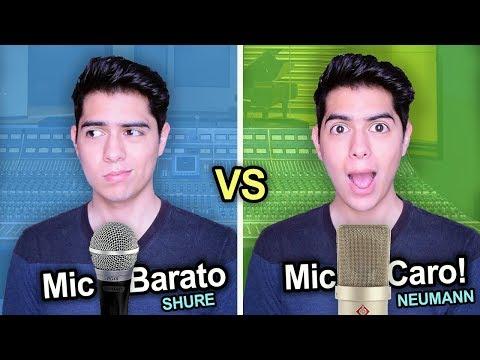 Micrófono BARATO VS. CARO | Shure Vs. Neumann COMPARACIÓN al Grabar | Vargott