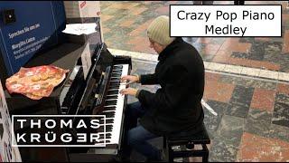 CRAZY POP PIANO MEDLEY at Brunswick Central Station – THOMAS KRÜGER