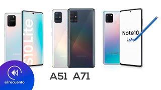 Precios oficiales de Galaxy A51, A71, S10 y Note 10 Lite | El Recuento