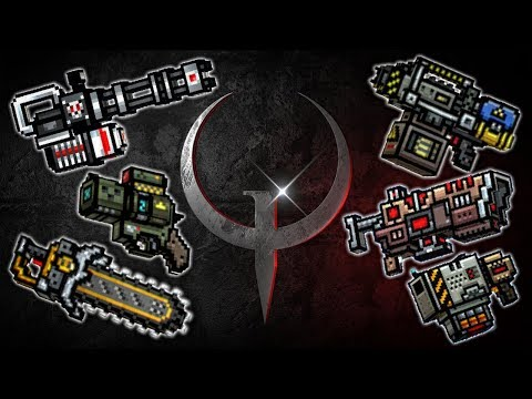 Quake Weapons - Pixel Gun 3D 🌚👌 (Challenge from ПроВектор PV)