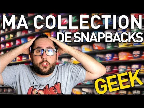 MA COLLECTION COMPLÈTE : 21 SNAPBACKS GEEK (CASQUETTES)