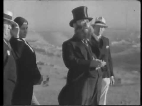 מסעו בישראל של החזן יוסל'ה רוזנבלט בתיעוד אחרון מ-1933