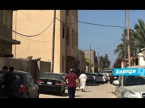 فيديو بوابة الوسط   تعرض عين زارة لاستهداف عن بُعد نتيجة سقوط قذائف الجراد