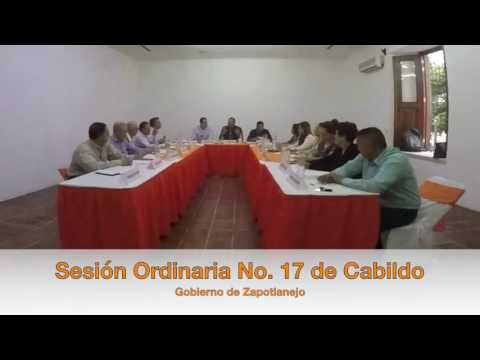 Sesión Ordinaria No. 17 de Ayuntamiento 15 de julio de 2016
