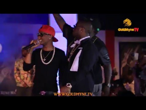WIZKID AND DAVIDO PERFORM TOGETHER ON STAGE AT 'AT THE CLUB WITH REMY MARTIN' GRAND FINALE