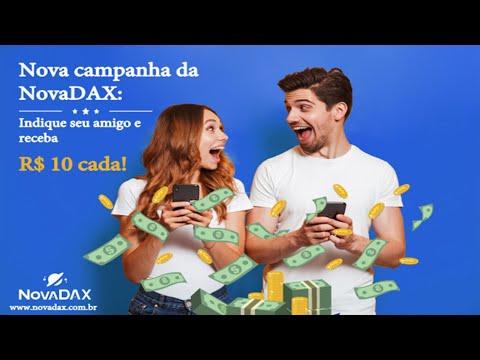 Ganhe BITCOIN Gratuitamente na Campanha de Aniversario da Exchange NovaDAX. Já Pode Sacar !
