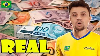 """Real"", THE BRAZILIAN CURRENCY! Learn about the MONEY used in BRAZIL."