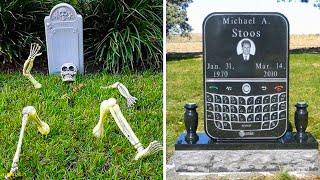 Самые Забавные Надгробия в Мире