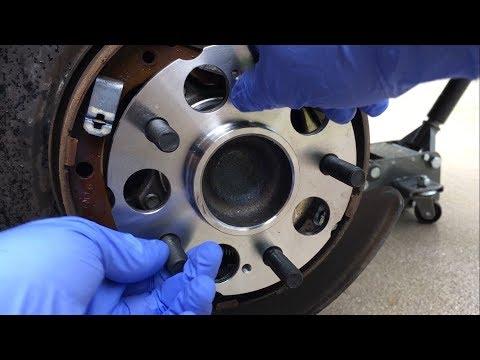 2007-2011 Honda CRV Rear Wheel Bearing Replacement