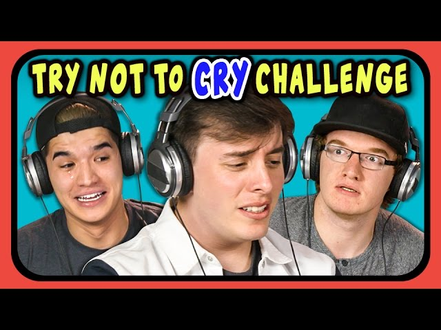 Youtubers-react-to-try-not