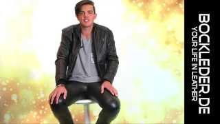 Leather Pants Lederhose Lederjeans Leather Trousers - Bockle Skinny Lamb - BOCKLEDER.DE - Jack1