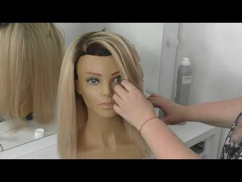 Lecția 2- Realizarea texturilor - Crina Dodea Hair Designer