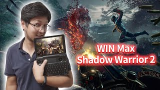 HD 1080P GPD WIN Max Shadow Warrior 2