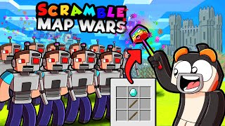 Scramble Craft MAP WARS! (Minecraft)