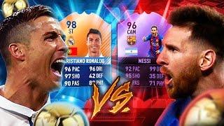 FIFA 17: RONALDO VS MESSI SQUAD BUILDER SHOWDOWN 😱🔥
