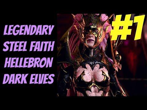 Download Legendary Steel Faith Hellebron (Dark Elves) #1 -- Total
