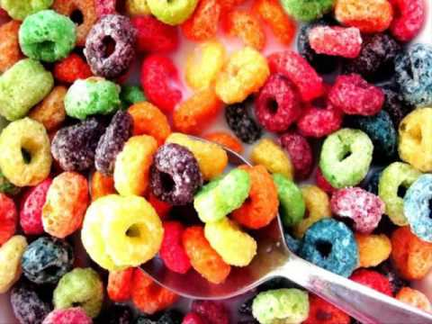 Froot loops characters
