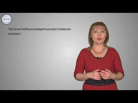 Reflexive pronouns. Возвратные Местоимения