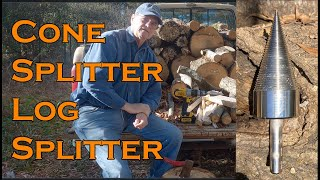Cone Splitter Wood Kindling Log Auger for a Drill Review