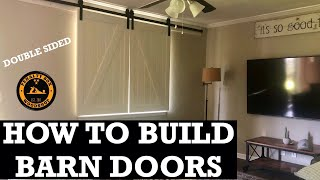 How To Build A Barn Door - Double Sided