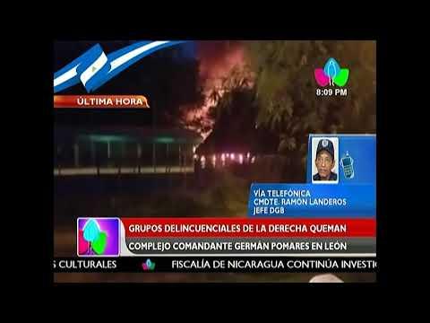 Bomberos controlan incendio en complejo germán pomares en León