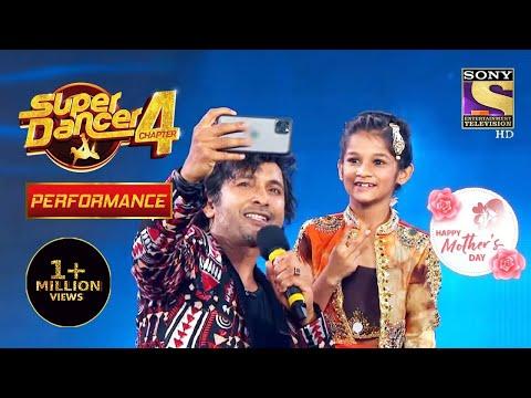 Terence ने लिया Anshika के साथ Photo | Super Dancer 4 | सुपर डांसर 4 | Mother's Day Special