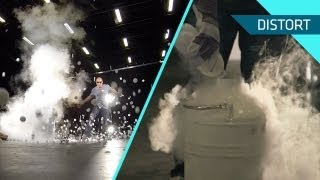 Ping Pong Ball Explosion with Liquid Nitrogen in SLOW MOTION