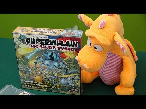 Supervillain: This Galaxy is mine - Unboxing