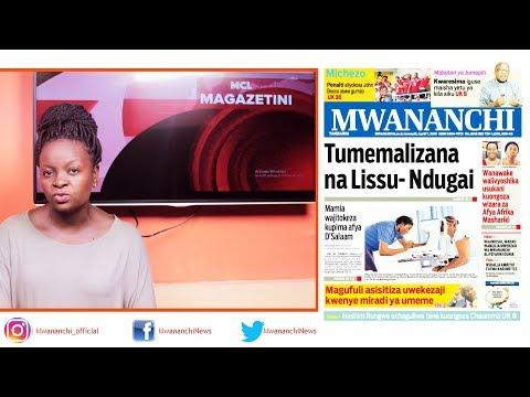 MCL MAGAZETINI, APRILI O7, 2019: TUMEMALIZANA NA LISU - NDUGAI