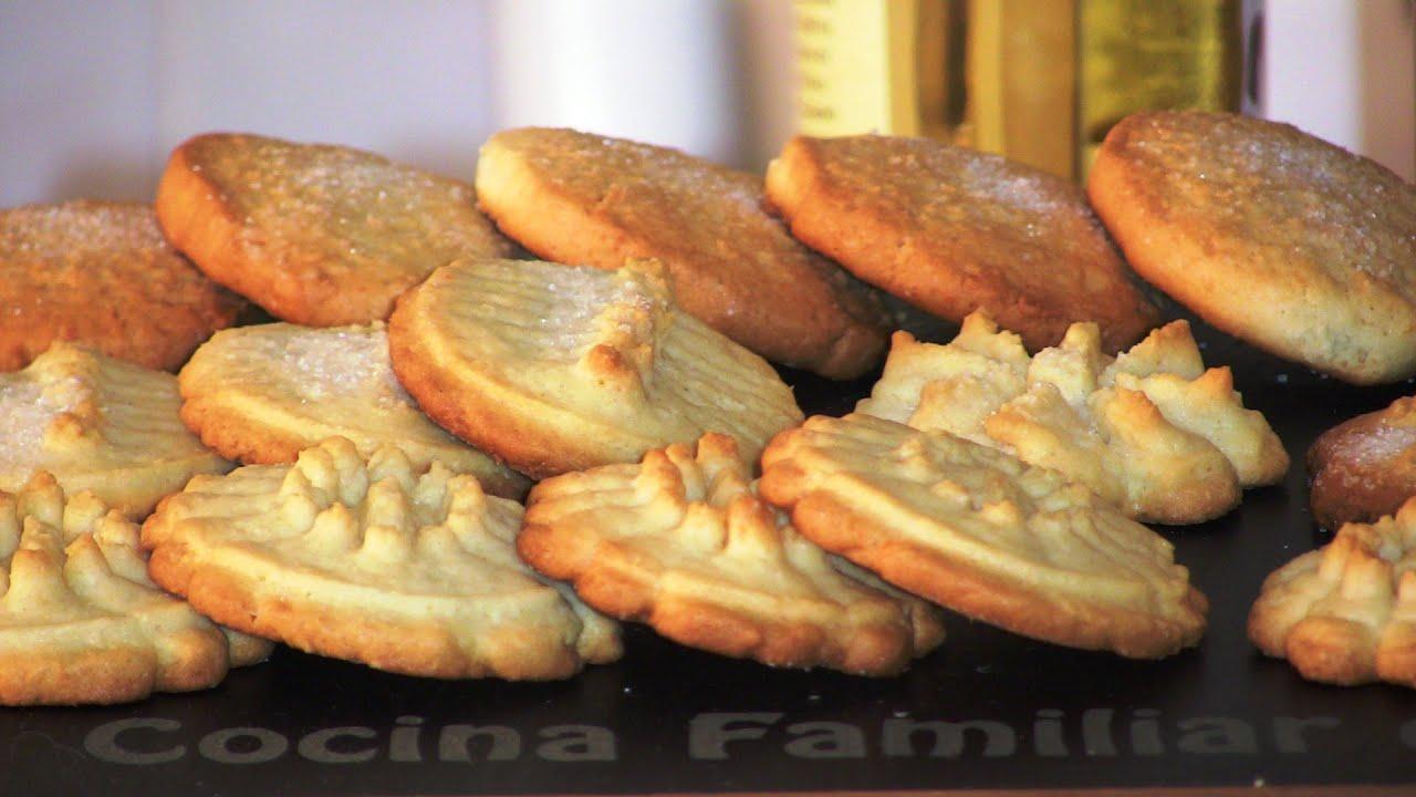 Galletas de mantequilla y coco | Javier Romero