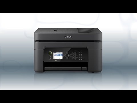 Epson WorkForce WF-2850 | Wireless Setup Using the Control Panel