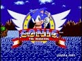 Sonic The Hedgehog mega Drive genesis Playthrough longp