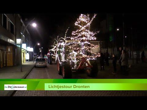 VIDEO | Na Biddinghuizen en Swifterbant was de Lichtjestour vanavond in Dronten
