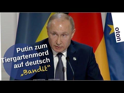 """Putin zum Tiergartenmord auf deutsch – """"Bandit"""" [Video]"""