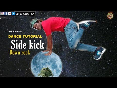 Dance tutorial side kick down rock top rock tutorial video in hindi 2020