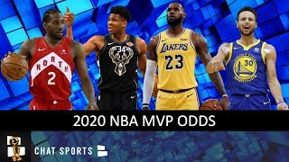 NBA MVP Odds For The 2019-20 Season Feat. Giannis, Stephen Curry, LeBron James & Luka Doncic
